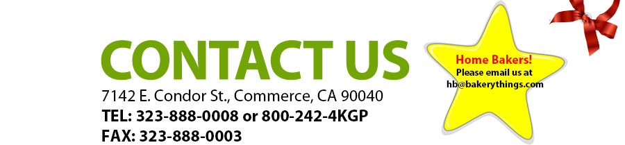 Contact us at 7142 E. Condor St., Commerce, CA 90040. 323-888-0008 or 800-242-4KGP
