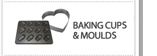 baking cups and molds